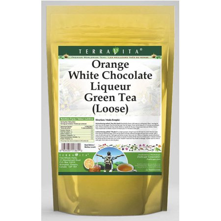 Praline Liqueur - Orange White Chocolate Liqueur Green Tea (Loose) (4 oz, ZIN: 540111)