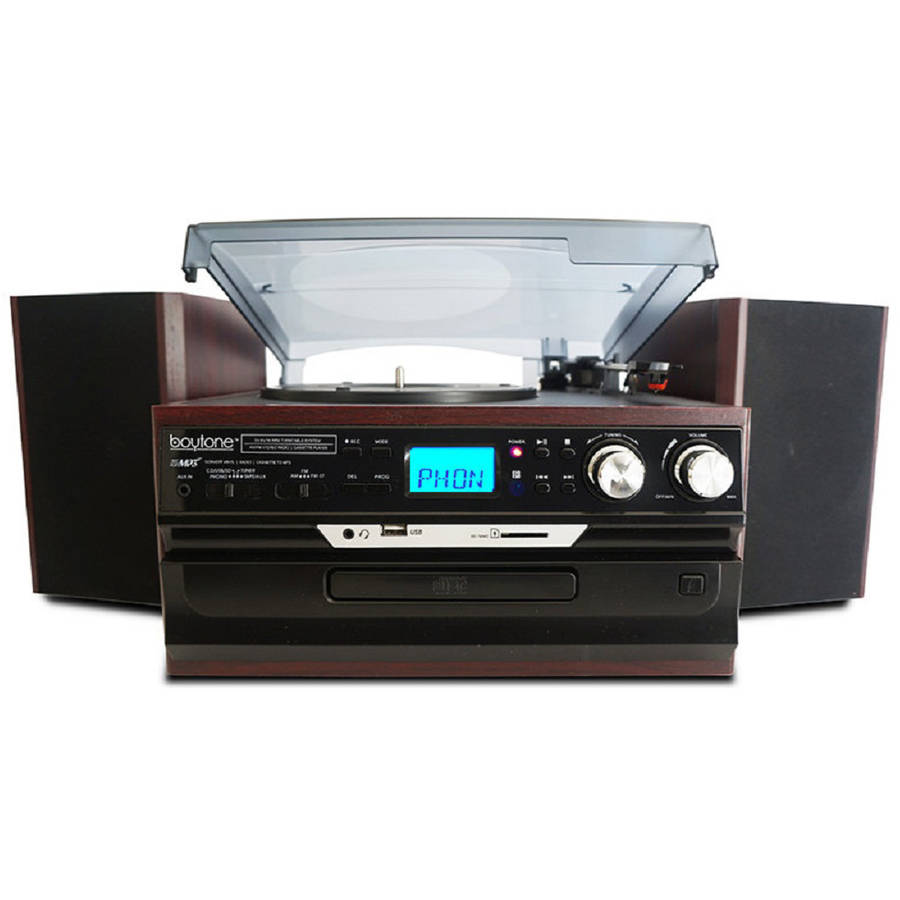Boytone BT-24DJM Home Turntable System
