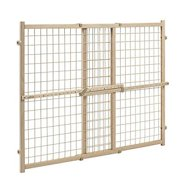Evenflo Position and Lock Tall Pressure Mount Wood Gate Safety Gates Baby Health