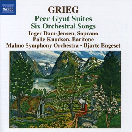 E. Grieg - Grieg: Peer Gynt Suites; 6 Orchestral Songs [CD] ()