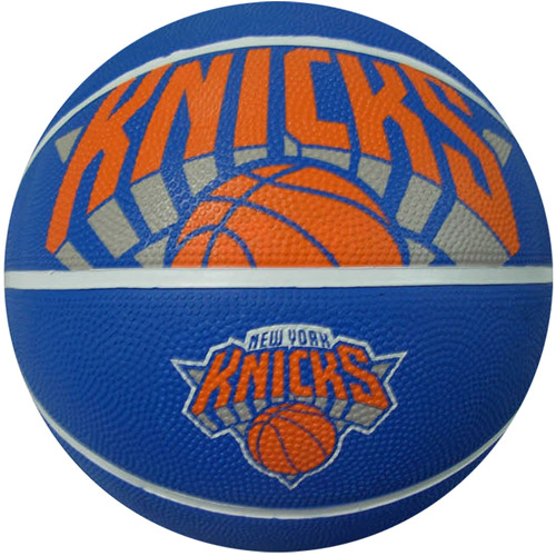 Spalding Team Logo Basketball, New York Knicks