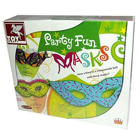 Toy Kraft Party Fun Masks Boxed Kit
