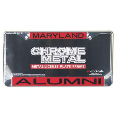 Maryland Terrapins Metal (Maryland Terrapins Metal Alumni Inlaid Acrylic License Plate)