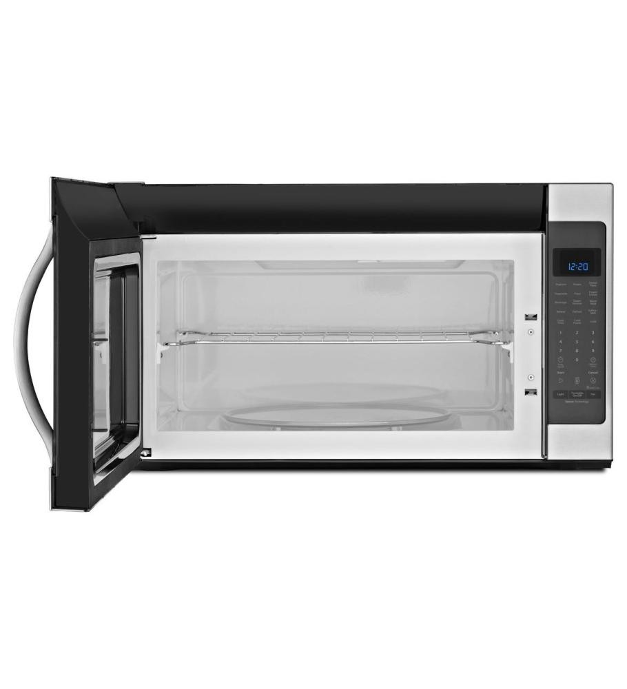 Whirlpool white ice otr microwave - Whirlpool Wmh53520ch 2 0 Cu Ft White Ice Over The Range Microwave Walmart Com