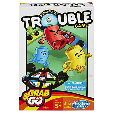 Pop-O-Matic Trouble Grab & Go Game (Grab The Ghost Halloween Game)