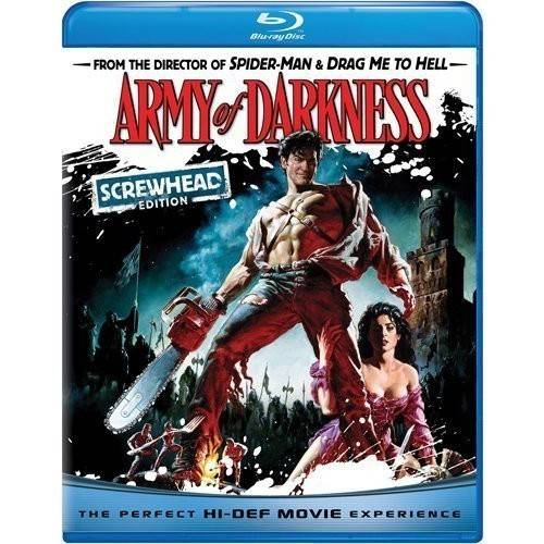 Army Of Darkness (Screwhead Edition) (Blu-ray) (With INSTAWATCH) (Anamorphic Widescreen)