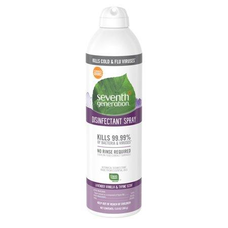 Seventh Generation Disinfectant Spray Lavender Vanilla & Thyme 13.9 oz