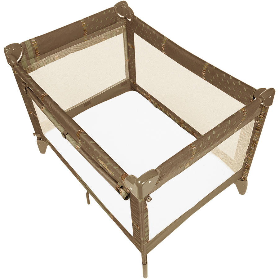 Kushies Portable Play Pen Fitted Flannel Sheet, White