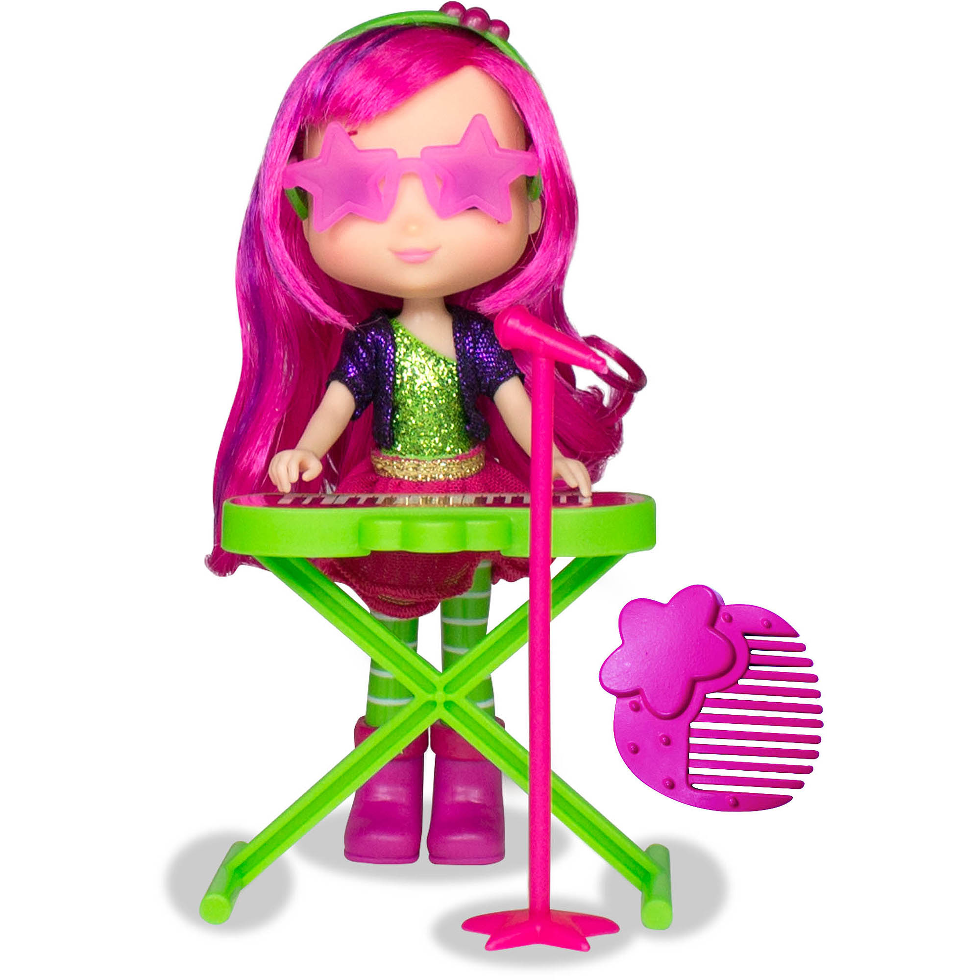 Raspberry Torte Doll with Keyboard by The Bridge Direct