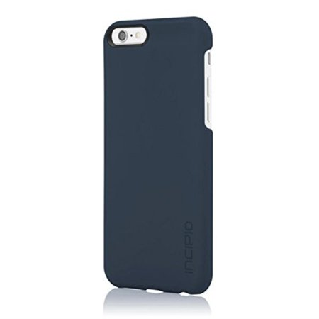 Incipio Feather - Back cover for cell phone - polycarbonate - navy - for Apple iPhone 6, 6s