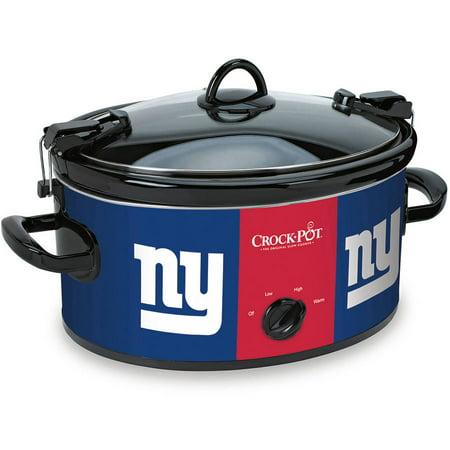 Crock-Pot NFL 6-Quart Slow Cooker, New York Giants by
