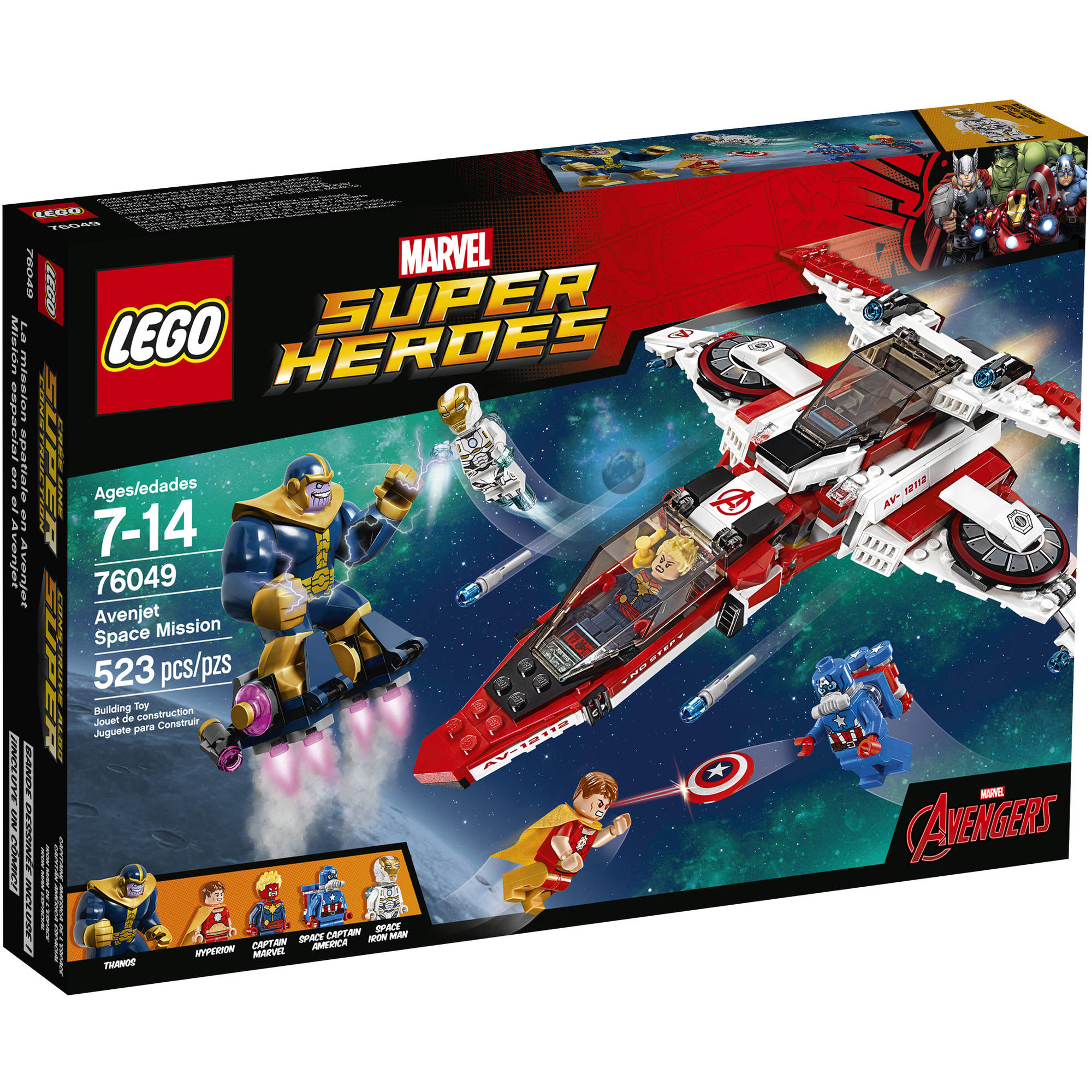 Lego Super Heroes Avenjet Space Mission, 76049 by LEGO Systems, Inc.