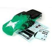 ECX 230003 Body, Black/Green: 1/10 2wd Ruckus