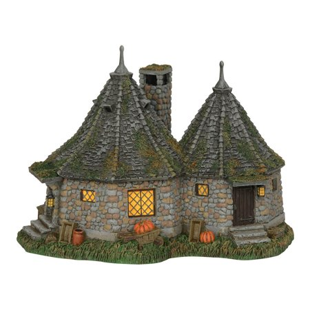 Department 56 Harry Potter 6002312 Hagrid's Hut Lighted -