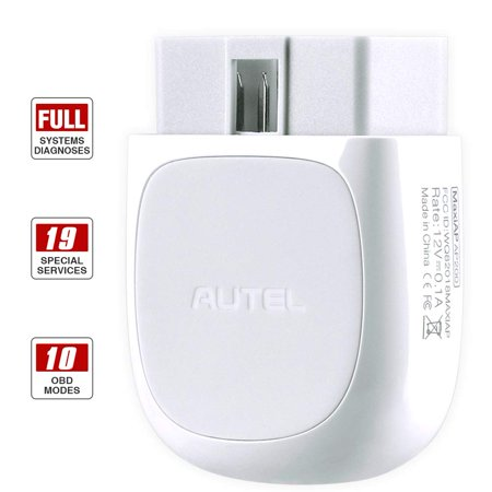 Autel AP200 OBD2 Scanner Bluetooth Adapter with All System Diagnoses, 19 Special Functions, AutoVin for Family DIYers, Simplified Edition of