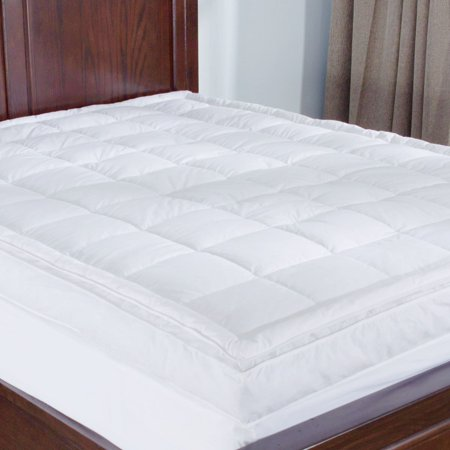 Puredown Premium Goose Down Mattress Pad Bed Topper, 75% Feather/25% Down