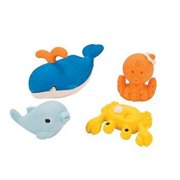 Ocean Life Shaped Erasers - Party Favors - 24 Pieces