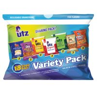 Utz Variety Snack Pack, 1 oz, 18 Count