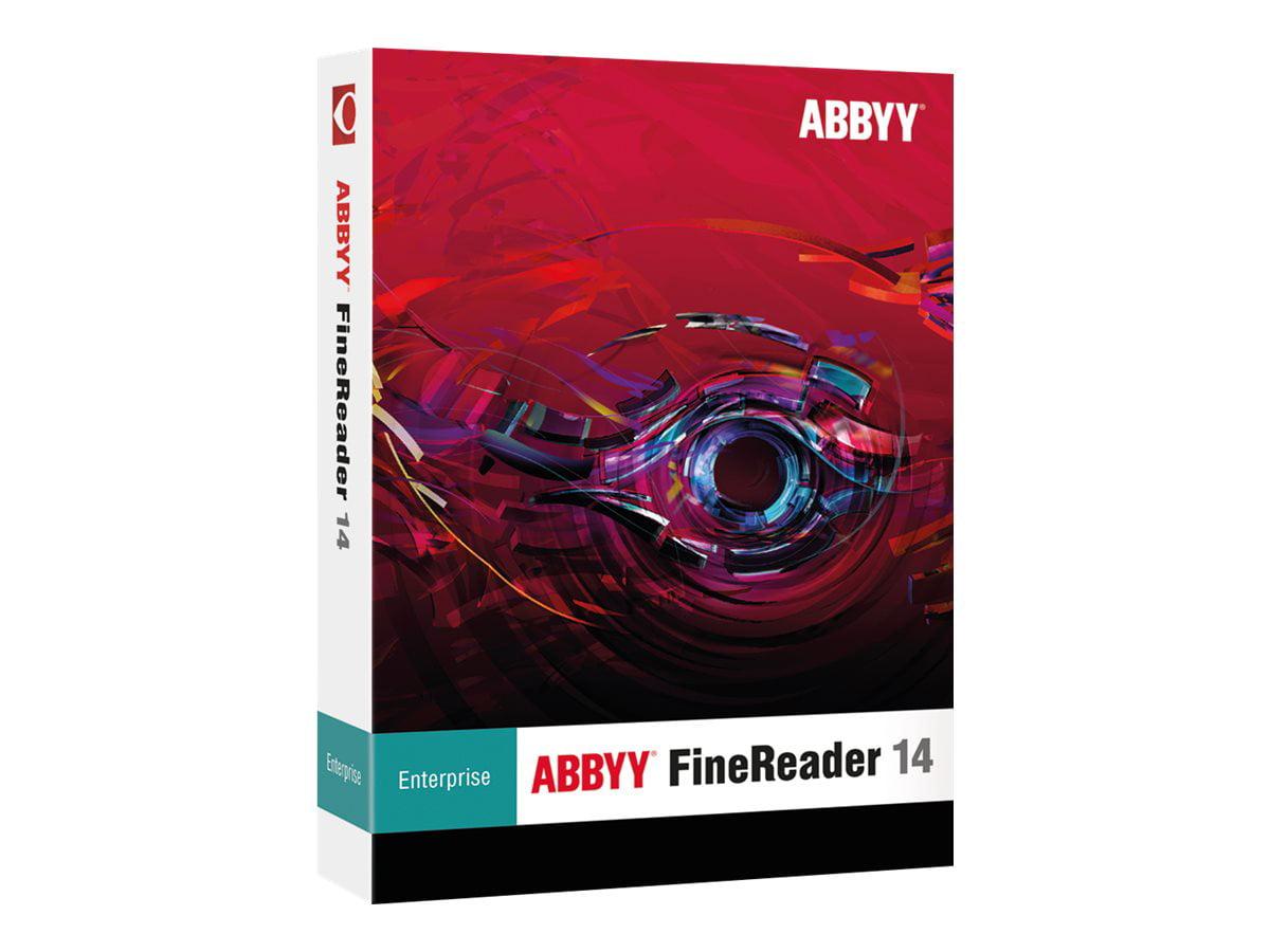 Abbyy Finereader 14 Enterprise Upgrade Version Walmart Com