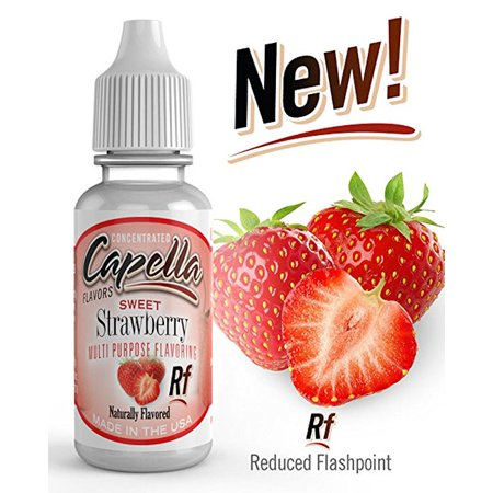 - Capella Flavor Drops  Sweet Strawberry Flavor Concentrate 13ml/0.4 fl oz