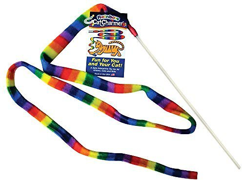 Cat Dancer Charmer Cat Toy (Rainbow) by Cat Dancer Products, Inc.