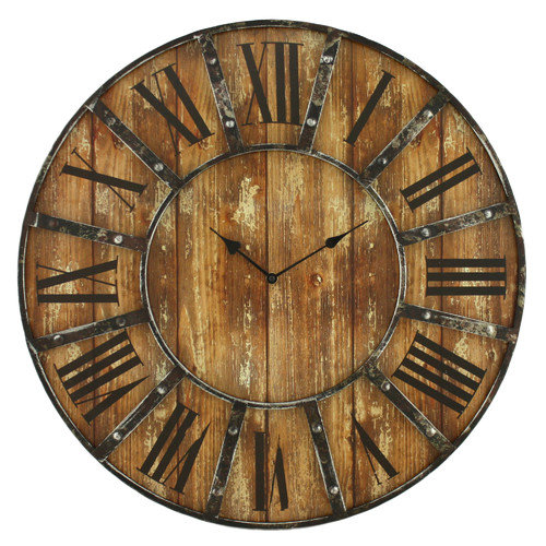 Aspire Home Accents Edmonson Wall Clock