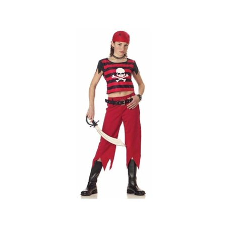 Child's Hip Punk Pirate Girl Costume for $<!---->