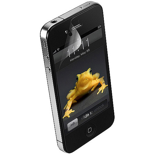 Wrapsol CUPHAP004SOL Clean Screen Protector for iPhone 4/4S