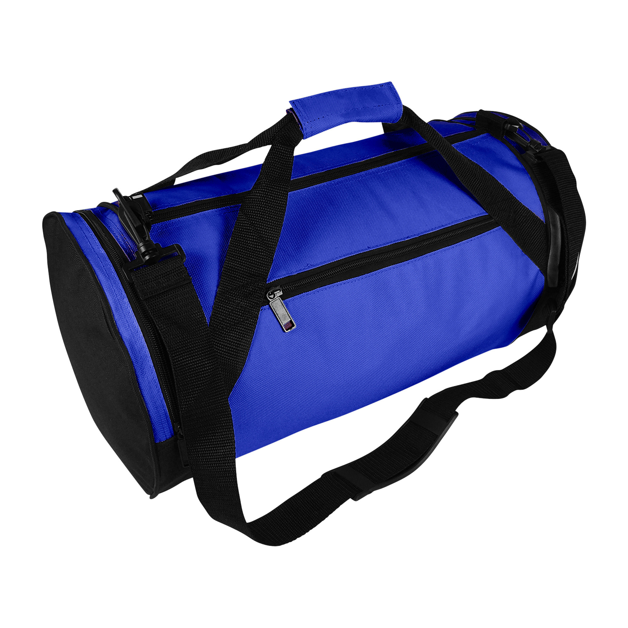 """DALIX 18"""" Round Duffle Bag Flexible Roll Gym Traveling Bag in Black by DALIX"""