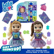 Baby Alive Baby Grows Up (Dreamy) - Growing and Talking Baby Doll