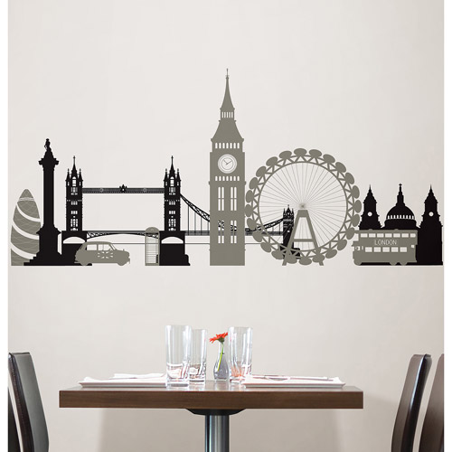 WallPops London Calling Wall Art Kit