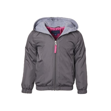 Polar Fleece Lined Windbreaker (Toddler Girls)