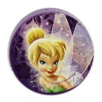 Disney Fairies Tinker Bell Violet Colored Portable Pencil Sharpener