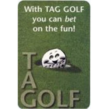 Tag Golf 0001-95 Golfing Card Game - Halloween Golf Game