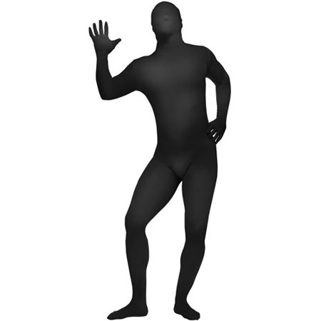 Bodysuit Adult Halloween Costume](Black Bodysuit Costume)