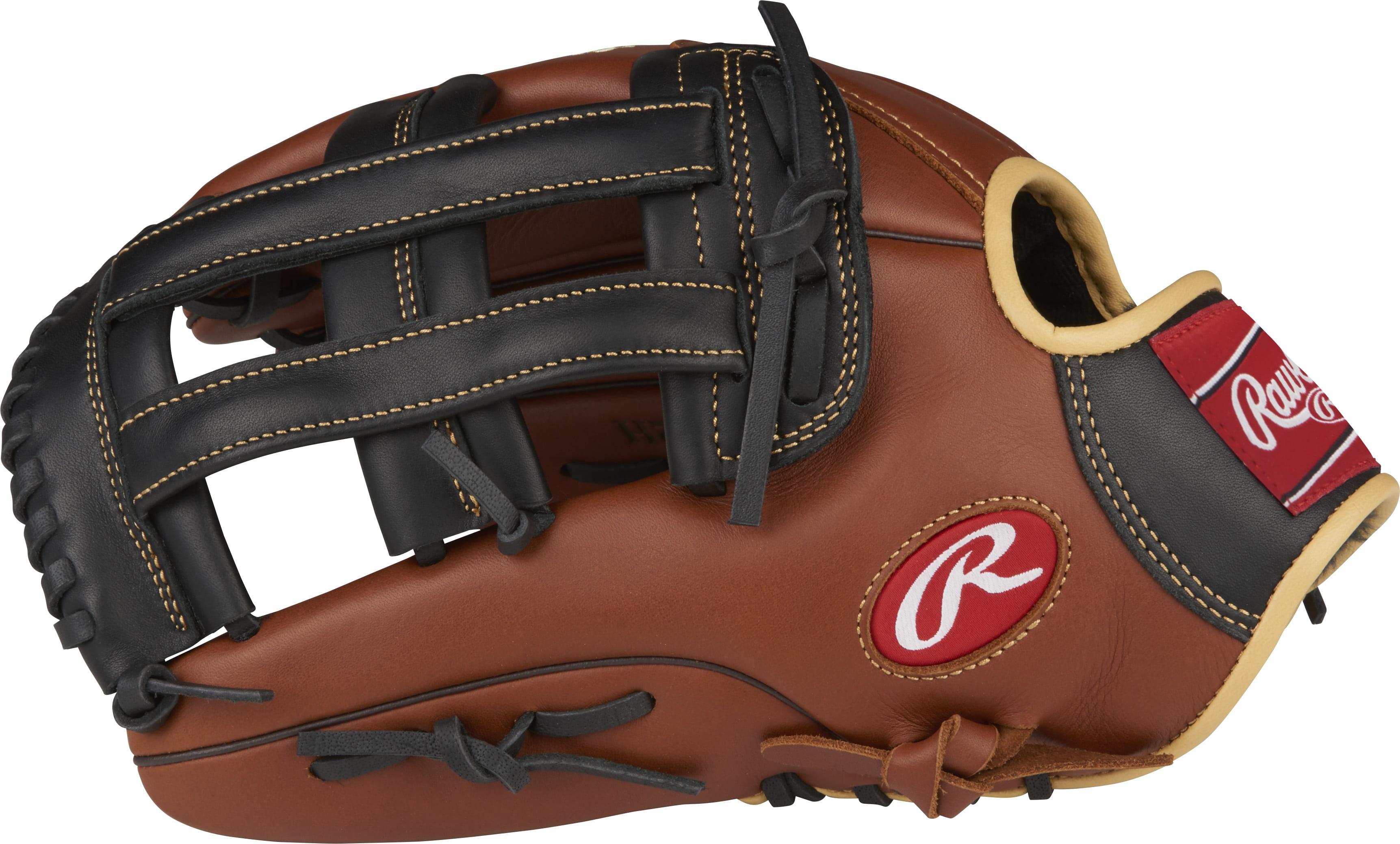 Rawlings Sandlot Series Leather Baseball Glove, Right Hand, Pro H Web, 12-3 4 Inch by Rawlings