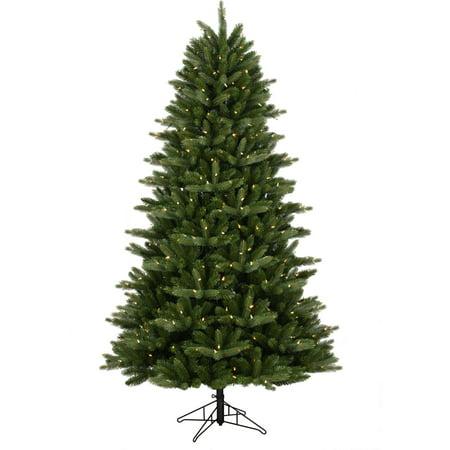 GE Pre-Lit 7.5' Douglas Fir Artificial Christmas Tree, Dual Color 7mm LED - GE Pre-Lit 7.5' Douglas Fir Artificial Christmas Tree, Dual Color