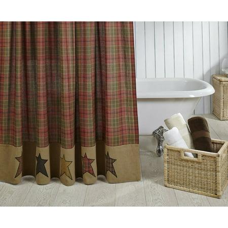 VHC Brands Stratton Shower Curtain - Walmart.com