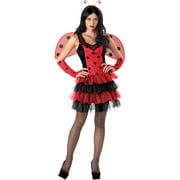 Flirty Ladybug Women's Adult Halloween Dress Up / Role Play Costume