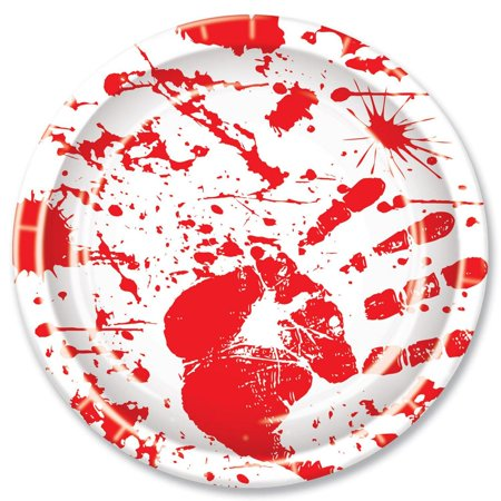(Pack of 96) Bloody H and prints Plates
