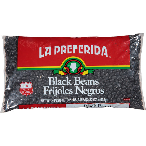 La Preferida Black Beans, 32 oz, (Pack of 12)