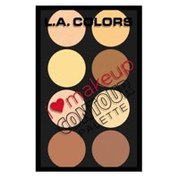 L.A. Colors I Heart Makeup Contour Palette, 1.04 oz