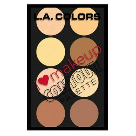 L.A. Colors I Heart Makeup Contour Palette, 1.04 oz