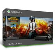 Microsoft Xbox One X PLAYERUNKNOWN'S BATTLEGROUNDS Bundle, Black, CYV-00026