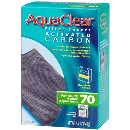 Aquaclear Powerheads (AquaClear 70 Filter Insert Activated Carbon, 4.2 oz )