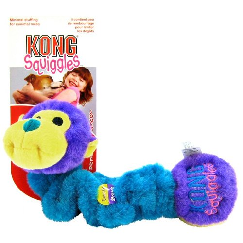 Assorted Designs Kong Squiggles Dog Toy