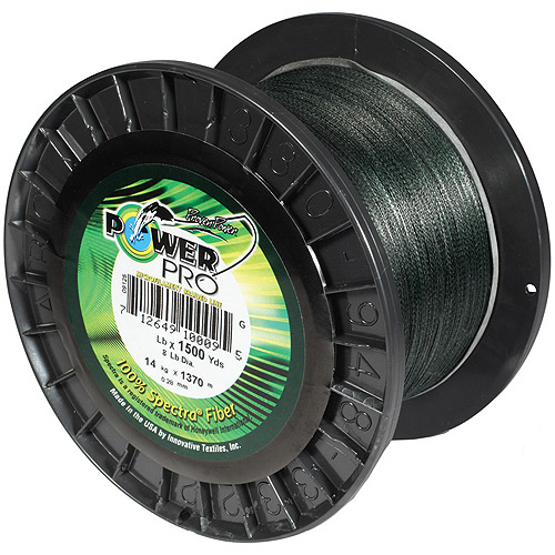 Power Pro Spectra Microfilament Braided Line, 10-1500-G