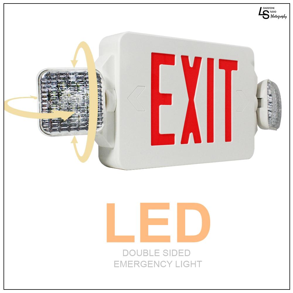 led exit sign emergency lighting emergency led light ul924 etl listed