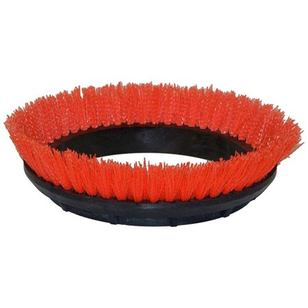 Floor Machine Brushes - 237047 Crimped Polypropylene Scrub Orbiter Brush, 12