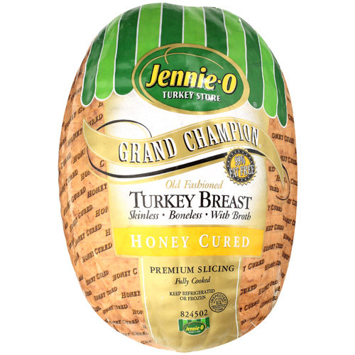 Jennie-O Turkey Store Grand Champion Honey Cured Turkey, Deli Sliced